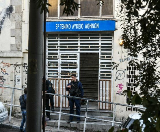STATEMENT FOR THE EVICTION of the SQUAT SHELTERING IMMIGRANTS and REFUGEES in the building of Prassa and Merlie (ex 5th High School, Exarchia).